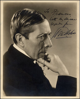 GEORGE ARLISS - AUTOGRAPHED INSCRIBED PHOTOGRAPH