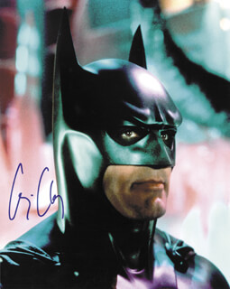GEORGE CLOONEY - AUTOGRAPHED SIGNED PHOTOGRAPH