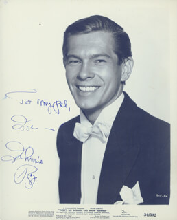 JOHNNIE RAY - AUTOGRAPHED INSCRIBED PHOTOGRAPH