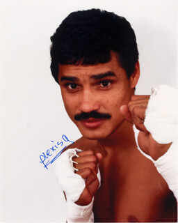 Autographs: ALEXIS ARGUELLO - PHOTOGRAPH SIGNED