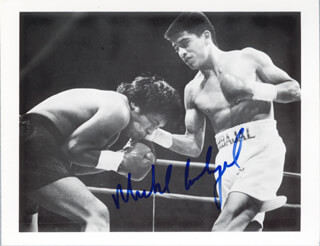 MICHAEL CARBAJAL - AUTOGRAPHED SIGNED PHOTOGRAPH
