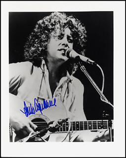 ARLO GUTHRIE - AUTOGRAPHED SIGNED PHOTOGRAPH