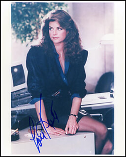 KIRSTIE ALLEY - AUTOGRAPHED SIGNED PHOTOGRAPH