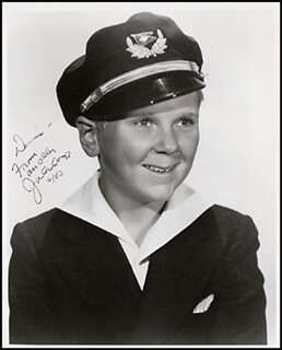 JACKIE COOPER - AUTOGRAPHED INSCRIBED PHOTOGRAPH 2/1983
