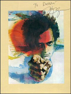 Autographs: HARRY CHAPIN - INSCRIBED PROGRAM SIGNED CIRCA 1976 CO-SIGNED BY: DOUG WALKER