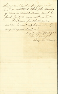 MAJOR GENERAL MARTIN L. SMITH - MANUSCRIPT LETTER SIGNED 09/19/1862