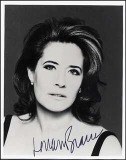 LORRAINE BRACCO - AUTOGRAPHED SIGNED PHOTOGRAPH