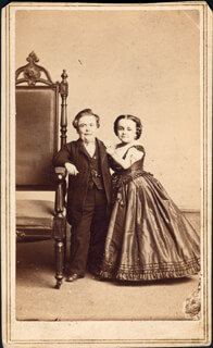 CHARLES S. TOM THUMB STRATTON - PHOTOGRAPH UNSIGNED