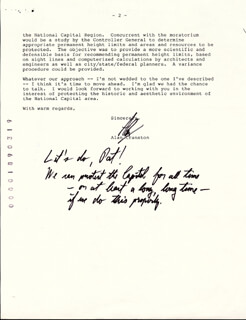 ALAN CRANSTON - TYPED LETTER SIGNED 04/26/1988