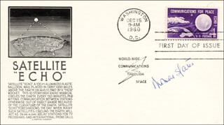 THOMAS S. GATES JR. - FIRST DAY COVER SIGNED