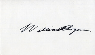 WILLIAM P. ROGERS - AUTOGRAPH