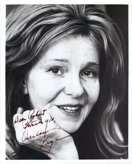 GERALDINE PAGE - AUTOGRAPHED SIGNED PHOTOGRAPH CIRCA 1974