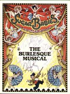 SUGAR BABIES CAST - INSCRIBED PROGRAM SIGNED CIRCA 1985 CO-SIGNED BY: PHIL FORD, MICKEY DEEMS, JULIE MILLER, JAY STUART, FRANK OLIVIER, JANE SUMMERHAYS, JEFF DUNHAM