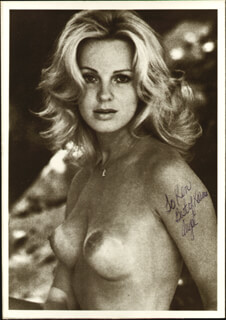 ANGEL TOMPKINS - AUTOGRAPHED INSCRIBED PHOTOGRAPH