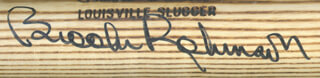 BROOKS ROBINSON - BASEBALL BAT SIGNED