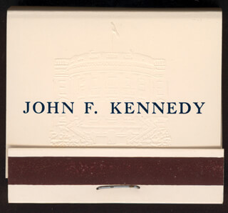 PRESIDENT JOHN F. KENNEDY - MATCH BOOK UNSIGNED