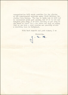 J. EDGAR HOOVER - TYPED LETTER SIGNED 07/28/1937  - HFSID 266547