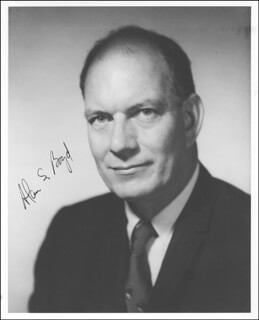 Autographs: ALAN S. BOYD - PHOTOGRAPH SIGNED