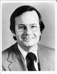 BILL MOYERS - AUTOGRAPHED SIGNED PHOTOGRAPH