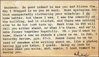ALEX HALEY - TYPED LETTER SIGNED