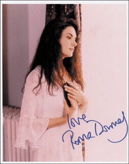 ROMA DOWNEY - AUTOGRAPHED SIGNED PHOTOGRAPH