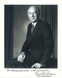 Autographs: GOVERNOR CECIL D. ANDRUS - INSCRIBED PHOTOGRAPH SIGNED