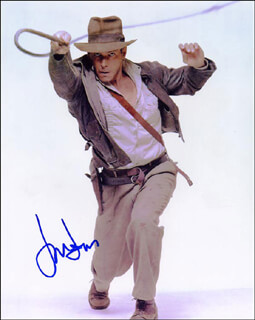 HARRISON FORD - AUTOGRAPHED SIGNED PHOTOGRAPH