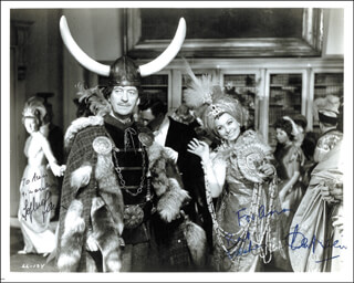 LADY L MOVIE CAST - AUTOGRAPHED INSCRIBED PHOTOGRAPH CO-SIGNED BY: DAVID NIVEN, SOPHIA LOREN