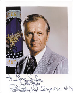 ROBERT BOB BERGLAND - AUTOGRAPHED INSCRIBED PHOTOGRAPH 04/06/1979