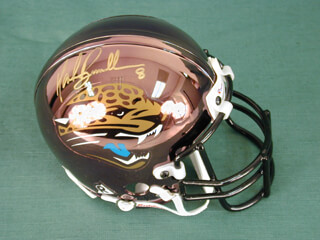 MARK BRUNELL - MINIATURE HELMET SIGNED