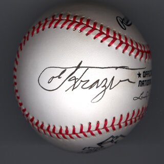 JOE SMOKIN JOE FRAZIER - AUTOGRAPHED SIGNED BASEBALL