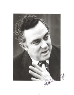 Autographs: JOSEPH A. CALIFANO JR. - PHOTOGRAPH SIGNED