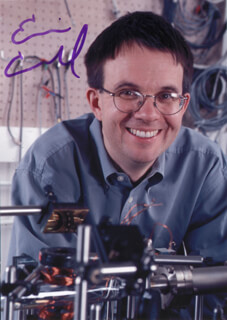 Autographs: ERIC A. CORNELL - PHOTOGRAPH SIGNED