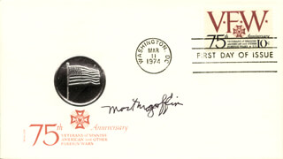 COLONEL MORTON D. MAGOFFIN - FIRST DAY COVER SIGNED