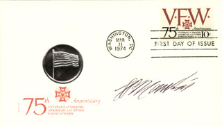 PAUL MANKIN - FIRST DAY COVER SIGNED