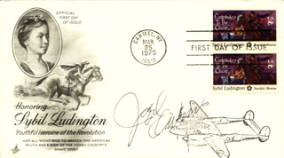 JOEL OWENS - FIRST DAY COVER SIGNED
