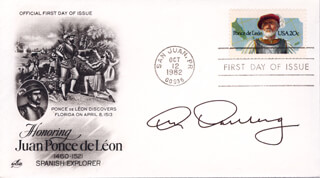 CAPTAIN KENNETH DAHLBERG - FIRST DAY COVER SIGNED