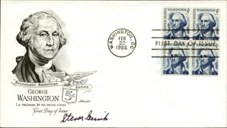 LT. STEVEN GERICK - FIRST DAY COVER SIGNED