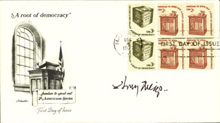HENRY MEIGS II - FIRST DAY COVER SIGNED