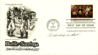 LT. COLONEL RICHARD C. SUEHR - FIRST DAY COVER SIGNED