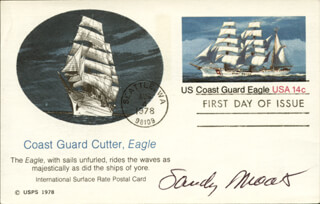 SANFORD MOATS - FIRST DAY COVER SIGNED