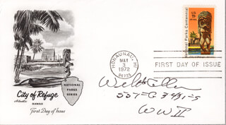 Autographs: WILLIAM HARRY ALLEN - FIRST DAY COVER SIGNED