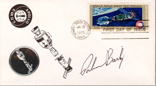 Autographs: PALMER K. BAILEY - FIRST DAY COVER SIGNED
