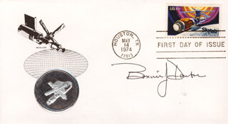 BONNIE J. DUNBAR - FIRST DAY COVER SIGNED