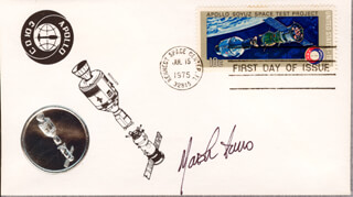 MARSHA IVINS - FIRST DAY COVER SIGNED