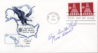 Autographs: BRIGADIER GENERAL STUART R. BOYD - FIRST DAY COVER SIGNED