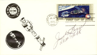 Autographs: JAMES M. BEGGS - FIRST DAY COVER SIGNED
