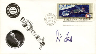 REIMAR LUST - FIRST DAY COVER SIGNED