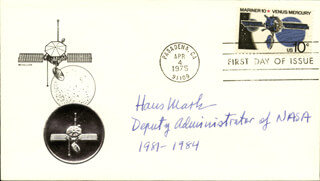HANS MARK - FIRST DAY COVER SIGNED