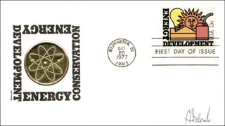 SYLVIA FEDORUK - FIRST DAY COVER SIGNED